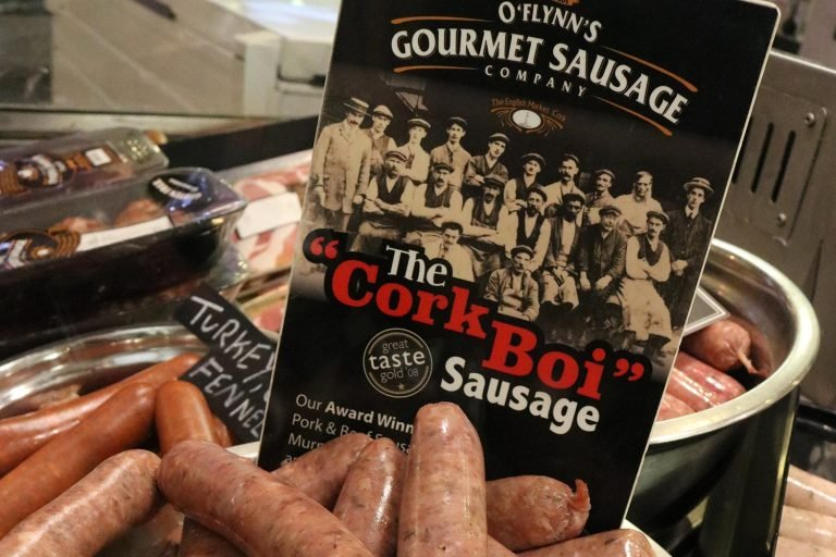 A photo of CorkBoi sausage.